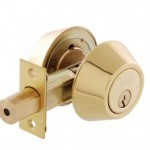 Brava Urban Deadbolt (Polished Brass)