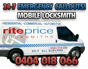 RitePrice Adelaide Locksmiths Van