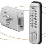 Brushed Stainless Deadbolt & Keypad Lock